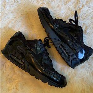 Nike Air Max 90 All Black size 8